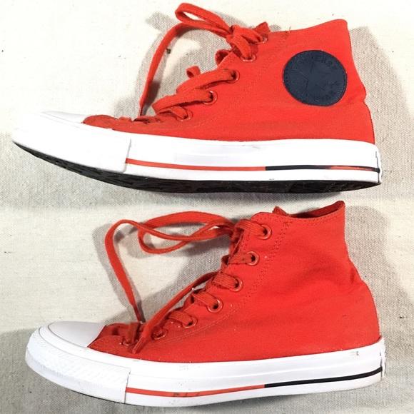 5fbabdf559864a Converse Shoes - Converse Chuck Taylor Sz M-6 W-8 Red Hi Tops